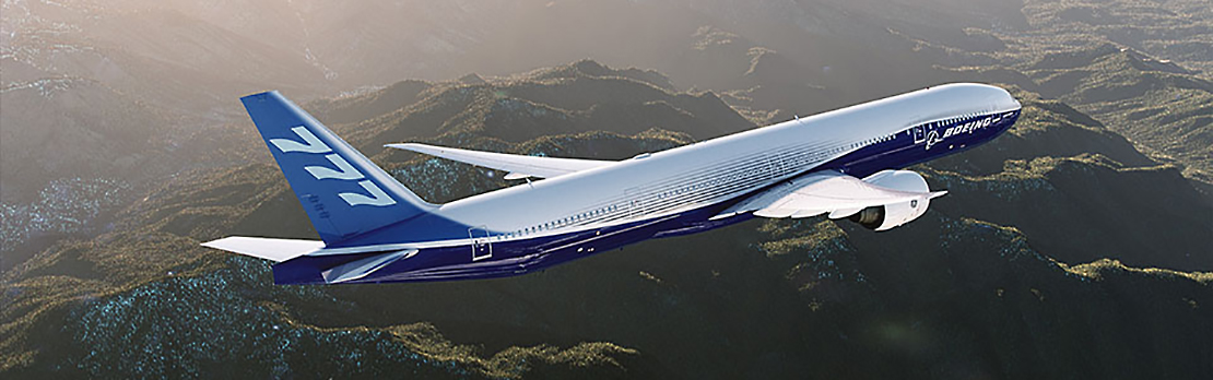Boeing 777-300ER: Click to enlarge